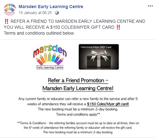 Marsden Early Learning Centre