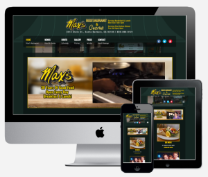 Max Website- Mobile Responsive