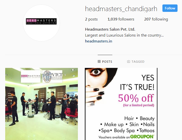Headmasters Instagram